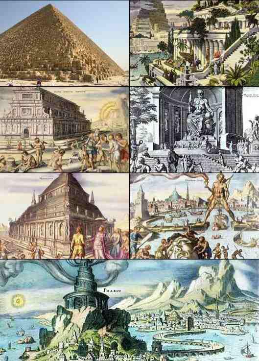 Les Sept Merveilles du monde antique ?