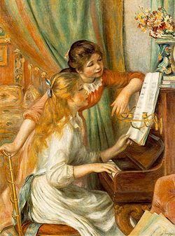 Jeunes filles au piano ?