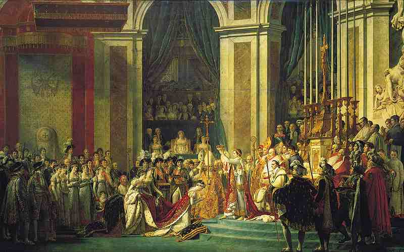 Sacre de Napoléon Ier ?