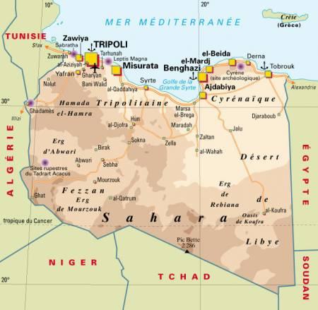 Petite histoire de la Lybie ?