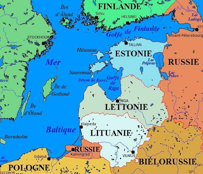 Les pays baltes ?