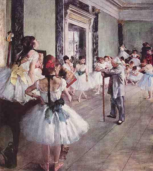 La classe de danse ?