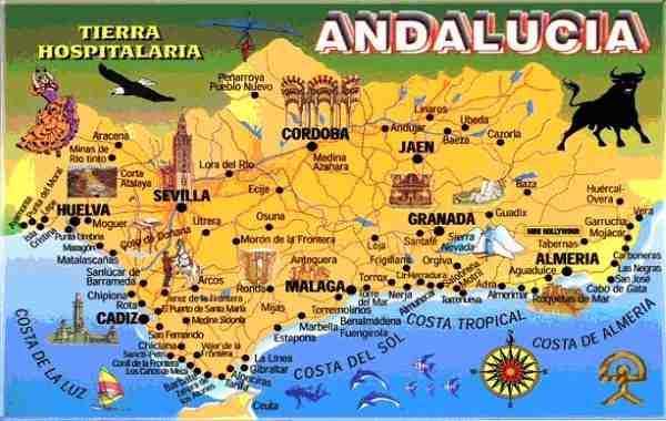 Un petit guide de l'Andalousie ?