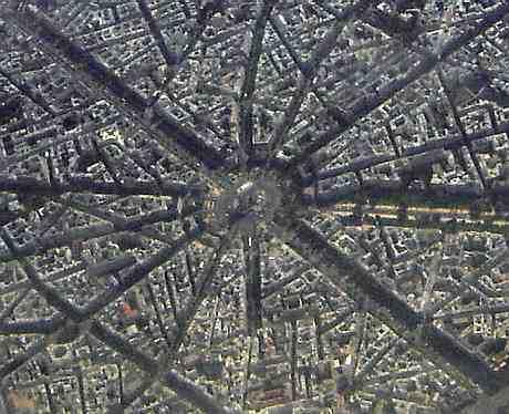 Les 12 avenues partant de la place de l'Etoile à Paris ?