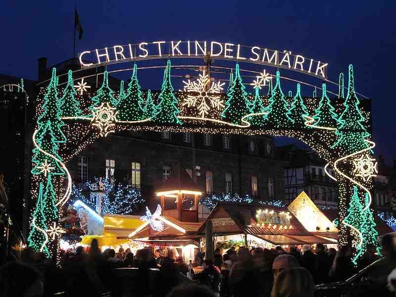 Le marché de Noël de Strasbourg ?
