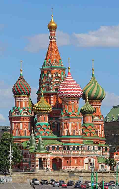 Un petit guide de Moscou ?