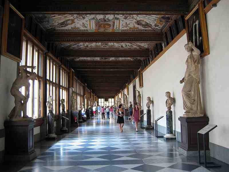 Une petite visite de la Galerie des Offices, à Florence ?