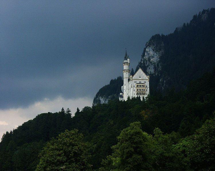 Les châteaux de Louis II de Bavière ?