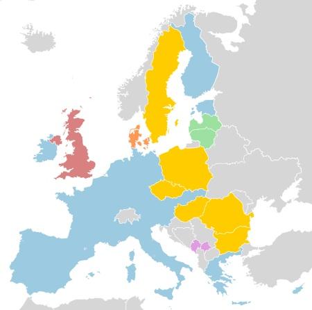 Les 17 pays de la zone euro ?