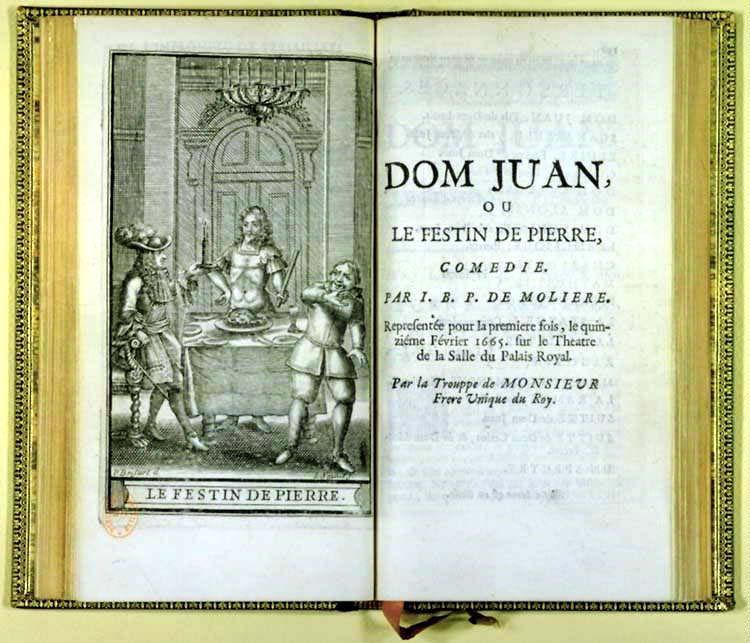 Dom Juan ou le Festin de pierre ?