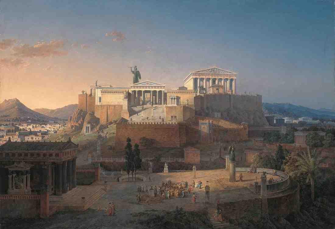 L'Acropole d'Athènes, sanctuaire de l'esprit et du courage ?