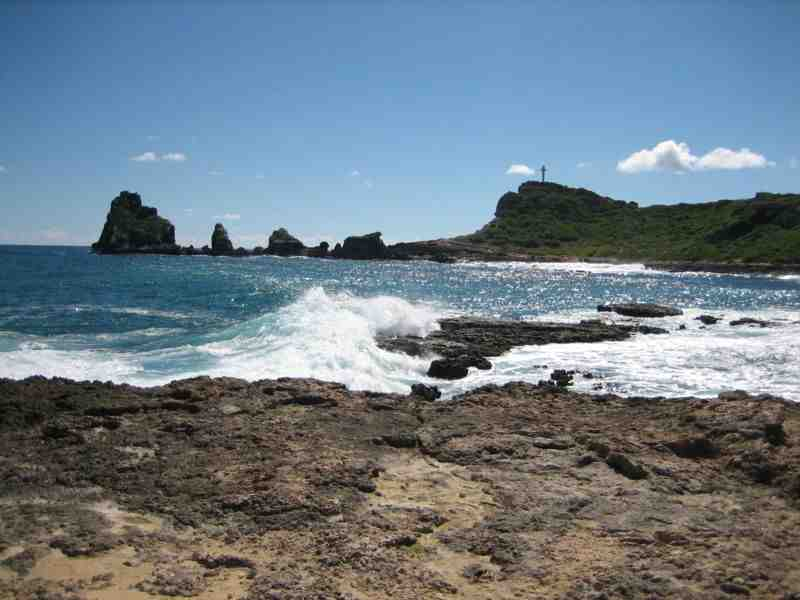 Les îles de la Guadeloupe ?