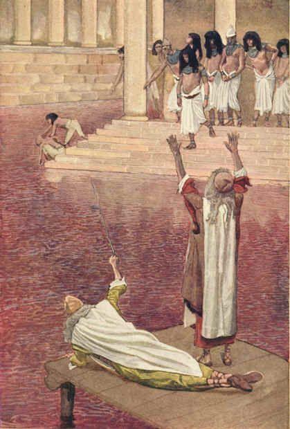 Les 10 plaies d'Egypte ?