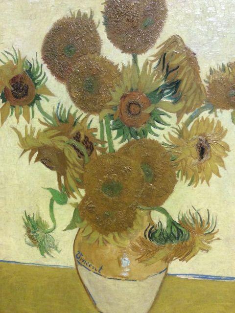 Les 7 Tournesols de Van Gogh ?